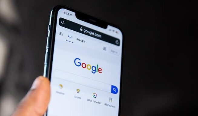 Google på mobil. Bliv synlig på Google. Berit Bai