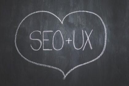 Hjerte med SEO + UX. Hvad er SEO og googleoptimering? beritbai.dk
